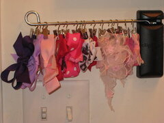 Organize Girls HairBows